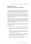 Novelty and Innovation in Research - International Marketing Trends