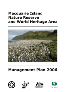 Macquarie Island - Tasmania Parks and Wildlife Service