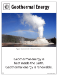 Geothermal Energy - The NEED Project