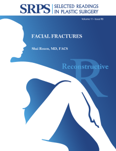 Volume 11 Issue R8 Facial Fractures