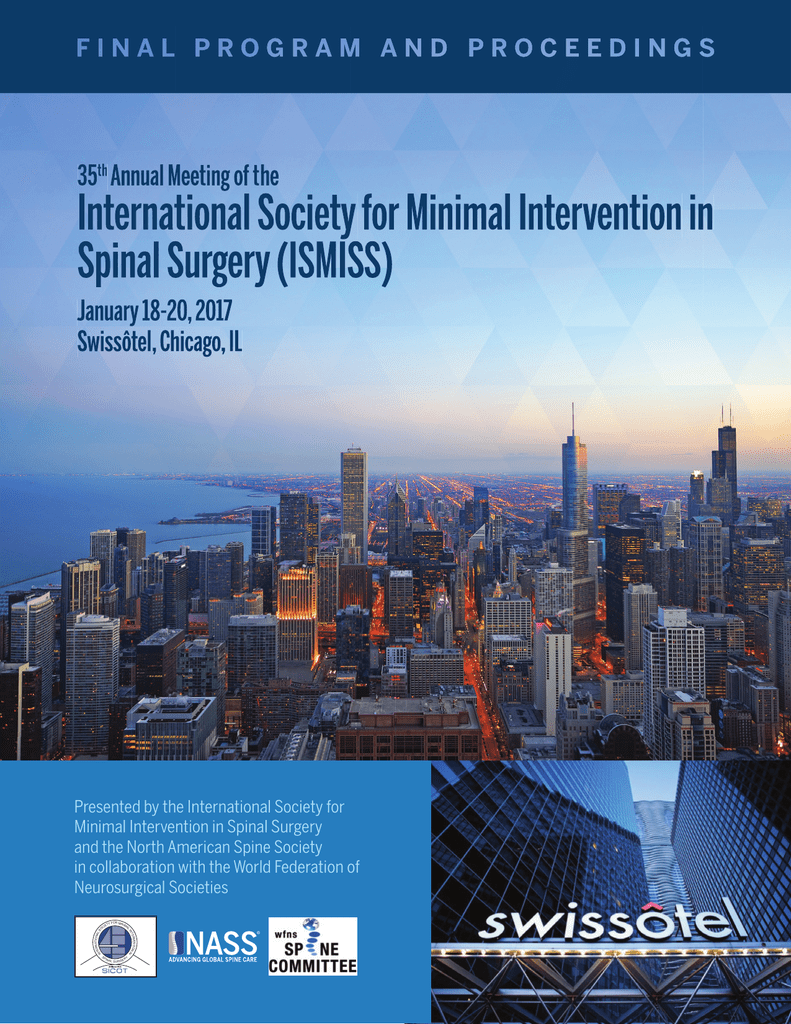 Final Program - North American Spine Society