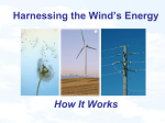 Harnessing the Wind`s Energy How It Works