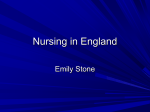 Nursing in England