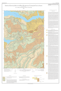 surficial geologic map of the dent quadrangle, clearwater county