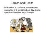 Stress and Health (1)
