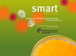 Smart Choices - Healthy Food and Drink Supply Strategy for