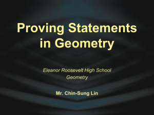 Geometry - Eleanor Roosevelt High School