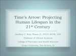Projecting Human Lifespan