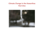 Climate Change in the Kawarthas Part One