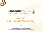 Production and Marketing 1 - Indo Italian Chamber Of Commerce