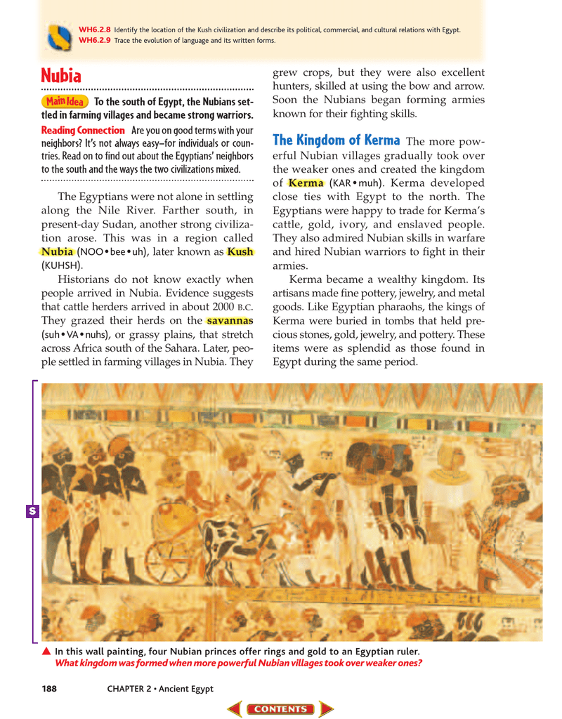 Chapter 2 Ancient Egypt And Kush