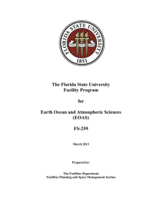 The Florida State University Facility Program for Earth Ocean and