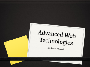 Advanced Web Technologies - awt-szabist