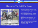 Chapter 36: The Cold War Begins