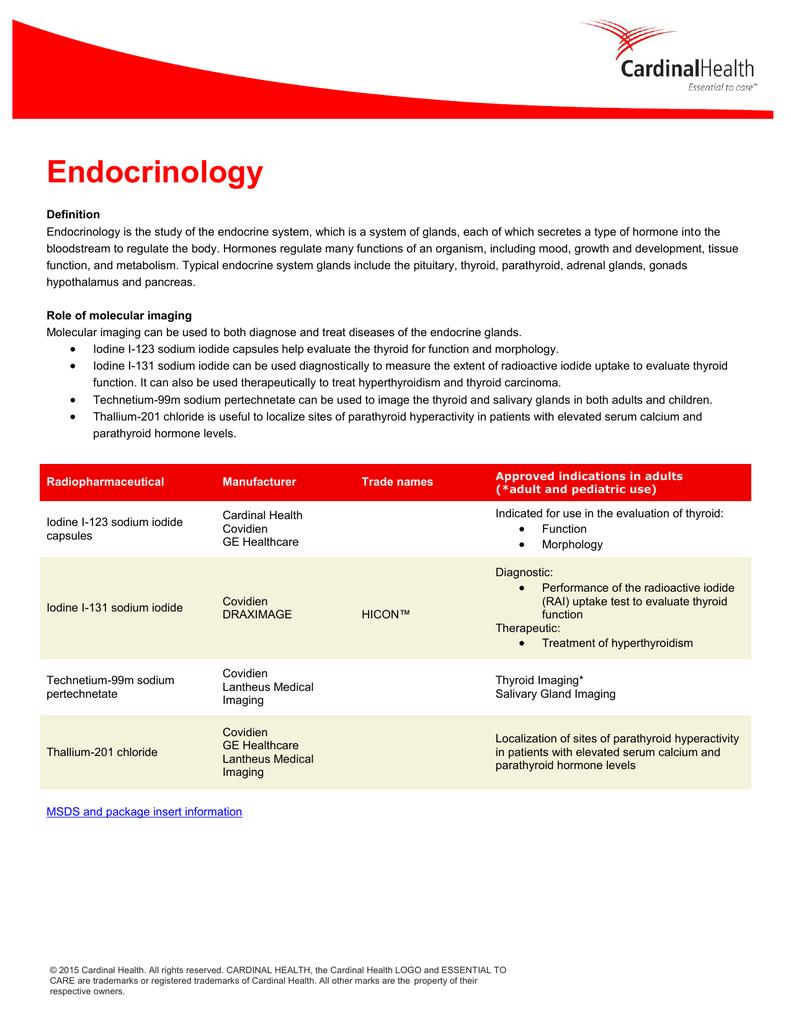 Endocrinology Cardinal Health
