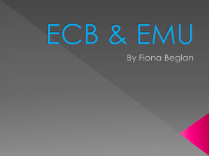 ECB and EMU Exchange Rates