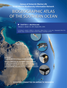 biogeographic atlas of the southern ocean - ePIC