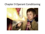 Operant Conditioning Notes File