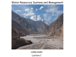 Understanding Climate Variability : Implications for Water Resources