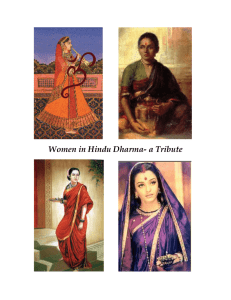 Women in Hindu Dharma- a Tribute