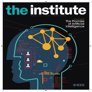 The Promise of Artificial Intelligence - IEEE