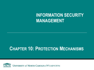 Ch10 - Protection Mechanism