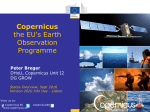 Copernicus the EU`s Earth Observation Programme