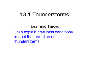 13-1 Thunderstorms