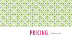 Pricing - kell marketing program