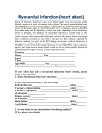 Myocardial Infarction (heart attack)