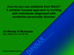How do you use solutions from Maria?