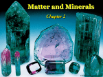 Minerals and Matter