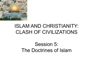 Islam and Christianity 5
