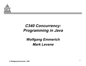 Programming in Java - UCL Computer Science