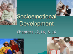 Socioemotional Development Adulthood