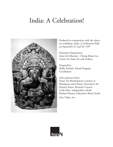 India! A Celebration - Asian Art Museum | Education