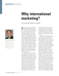Why international marketing?