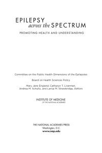 Committee on the Public Health Dimensions of the Epilepsies Board
