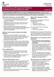 Invasive Group A Streptococcal Infections Factsheet for close