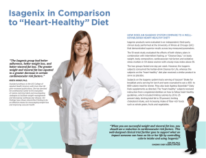 "Isagenix in Comparison to ""Heart"