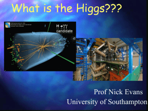 gg higgs - University of Southampton