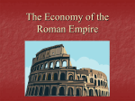 The Economy of the Roman Empire