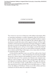 conclusion - The University of Michigan Press
