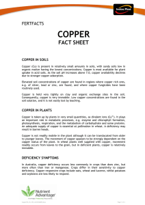 copper - incitecpivotfertilisers.com.au