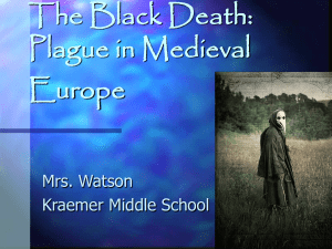 The Black Death: Plague in Medieval Europe