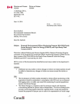 DFO EEMP Letter - Government of Nova Scotia