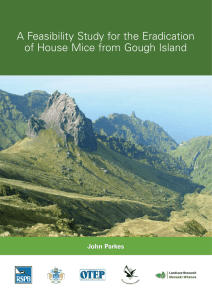 A Feasibility Study for the Eradication of House Mice from
