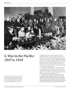 3. War in the Pacific: 1937 to 1945