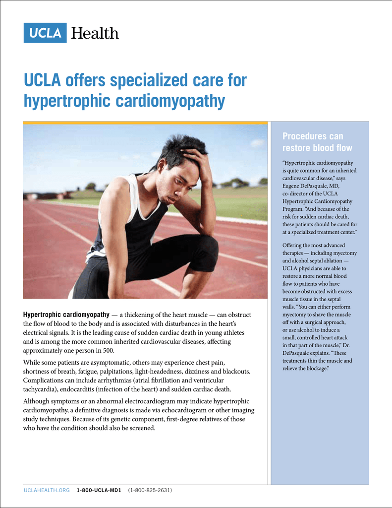 UCLA offers specialized care for hypertrophic