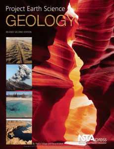 Project Earth Science: Geology - National Science Teachers
